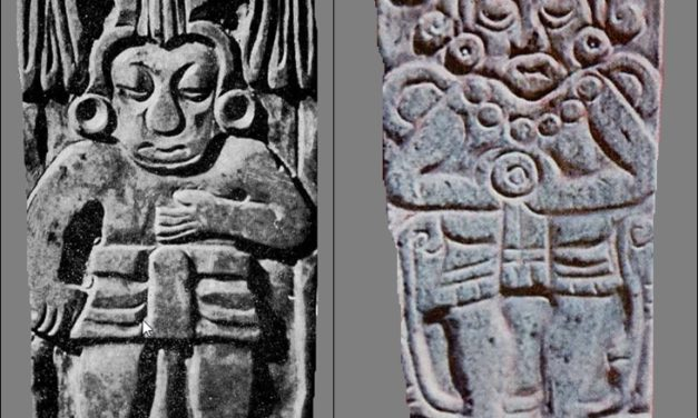 Las placas de jade descubiertas en la Zona Arqueológica de Tula