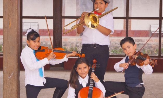 Niñas y niños músicos, esperanza frente a la violencia