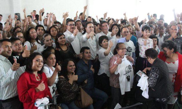 VAMOS FIRMES AL SENADO, TRAS RECORRER TODO HIDALGO: ALEX GONZÁLEZ