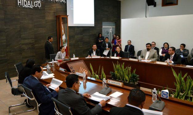 SESIÓN DE SEGUIMIENTO DE CÓMPUTOS DISTRITALES DEL CONSEJO GENERAL DEL IEEH