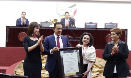 SILVIA GARCÍA DE ALBA, GRAN EJEMPLO PARA LAS NUEVAS GENERACIONES: OMAR FAYAD