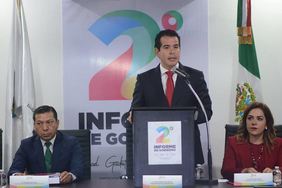 Alcaldes de Hidalgo a la mitad del río