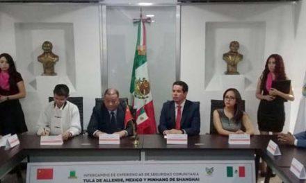 Hidalgo, Tula: Sus relaciones internacionales.