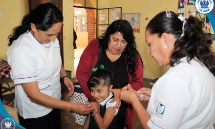 Realiza Colegio Mexicano Los Ángeles Jornada de Vacunación en coordinación con el Instituto Mexicano del Seguro Social
