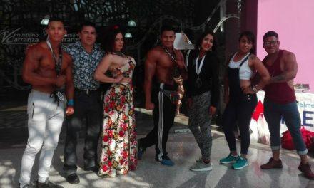 Destaca Hidalgo en Copa Promesa de Fisicoculturismo en CDMX