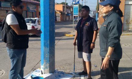Con la participación ciudadana se mejora la imagen urbana de Tepeji del Río