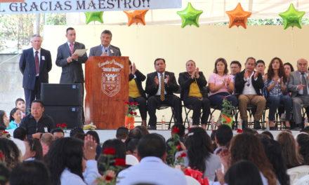 Cerca de 15 millones de pesos han sido invertidos en infraestructura educativa en Tepeji del Río en el último año.